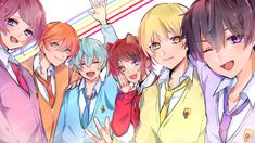 Anime Group Of Friends, Tracing Art, Anime Poses Reference, Kawaii Chibi, Cute Characters, Vocaloid, Webtoon, Art Inspo, Cool Art