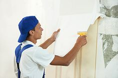 Central CT Painting Professionals - Interior painting projects - painting over wallpaper, wall paper removal, choosing interior paint. Painting Over Wallpaper, Old Wallpaper, Remove Wallpaper, Remove Permanent Marker, Stripped Wallpaper, Easy Crochet Stitches, How To Clean Pillows, Removal Services, Diy Cabinets