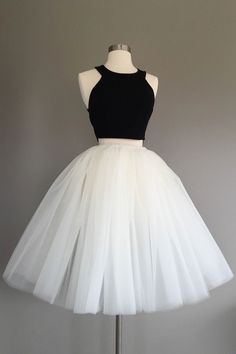 Ivory Tulle Skirt – light ivory tulle skirt, Adult Bachelorette Tutu- ivory adult tutu, white adult tulle skirt – Beading and Clothes Two Piece Homecoming Dress, Cute Homecoming Dresses, Prom Dresses Two Piece, Cheap Prom Dresses, Grad Dresses, Dresses For Teens, Sexy Dresses, Summer Dresses, Wedding Dresses