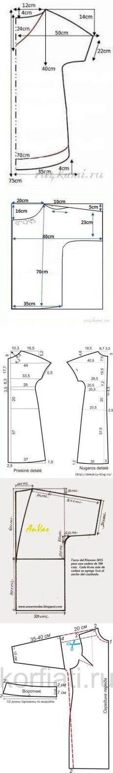 qoster.com Dress Sewing Patterns, Sewing Patterns Free, Clothing Patterns, Sewing Tutorials, Sewing Projects, Fashion Sewing, Diy Fashion, Stocking Pattern, Tunic Pattern