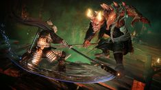 In the dark, fantasy action RPG Nioh, players will traverse war-torn Japan as William, a blonde-haired swordsman whose background as a fierce warrior and sea. Plus Games, Free Games, Tomb Raider Ps4, Buy Moss, Outlast 2, Crash Team Racing, Ps Plus, Mundo Dos Games, Game Informer