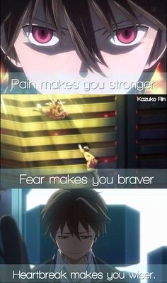 Anime: Guilty Crown #animequotes #quotes