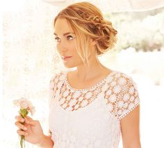 Favorite Summer Hairstyle {this messy braided updo by Kristin Ess}