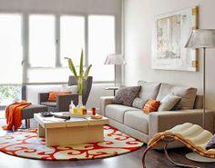 Apartamento decorado de 58 metros quadrados   móveis e Decoração de interiores