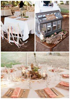 Rustic, Organic Wedding // Double G Events // Burr Homestead