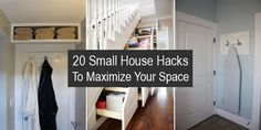 Here is a great list of the best tips and tricks for small houses that will help you to use every inch of space to the max.