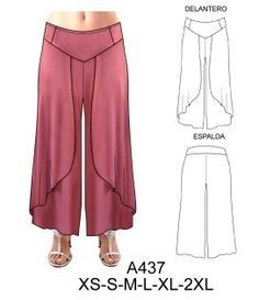 Only at gaelsong cotton wrap pants more – Artofit Sewing Pants, Sewing Clothes, Fashion Pants, Hijab Fashion, Wrap Pants, Pantalon Large, Pants Pattern, Fashion Sewing, Clothing Patterns