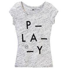 T-shirt manica corta Lee melange  - € 26,40 | Scopri il meglio della collezione Lee Jeans su www.nico.it