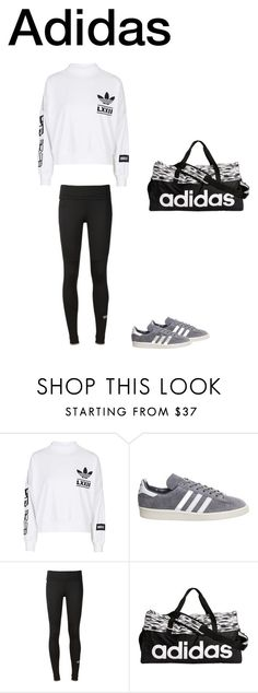 """Adidas"" by malinas01 on Polyvore featuring adidas"