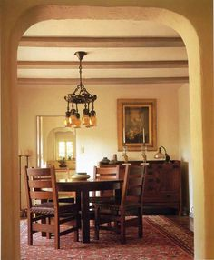 Dining Room Furniture - Arts and Crafts Cir 1900 - CRS862