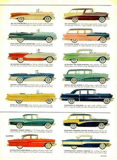 1956 Cars Page 5 by aldenjewell
