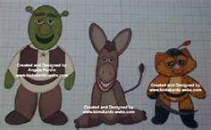 Shrek punch art