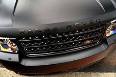 matte paint range rover