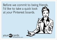 Friends and Pinterest Humor
