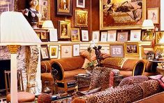 Interiors: Among the treasures amassed during years of globe-trotting are cushions covered with dishcloths, which Lane found for a few rupee...