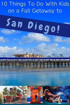 Use the 10 fun activities to plan a family weekend getaway to San Diego. Fall means kids-free-month, restaurant week, and great weather for getting outdoors. #sandiego #california #planning #weekend #vacation #kids #thingstodo #kidsfreemonth