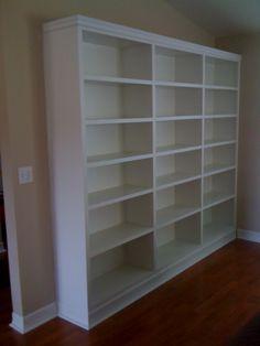 Sample: Built In Bookshelves