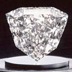 The Guinea Star diamond is an 89.01-carat, D-color, flawless (FL) diamond with a rare modified shield-shaped cut.