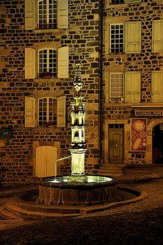 Fontaine - Le Puy en Velay - Haute-Loire - France