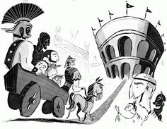 Adam McCauley Illustration | See You Later, Gladiator #childrensbooks