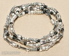 How to Make Beaded Stretch Bracelets: Gather Your Materials