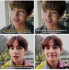 His personality is just so bright 😩 And the fact that he is always thinking of the ones he love and cares for them the best he can - it makes me remember that I can do more for others and that I should definetly be more thankful. Especially for my family. ~ So this is a honest thank you Taehyung! Thank you for being an exceptional role model even in such young years! You surly not just inspire me but also many others. ARMYs protect this one at all cost! 오빠 화이팅!