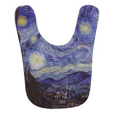 Vincent Van Gogh Starry Night Baby Bibs.. I should get this for jack!