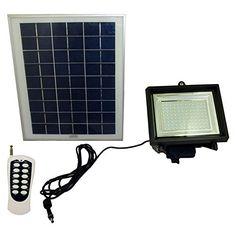 Solar Goes Green SGG-F108-3 Super Bright Solar Flood Light – 108 LED