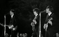 16th September 1964. The Beatles performing in New Orleans.
