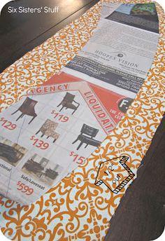 DIY Fabric Lampshade Recover Tutorial | Six Sisters' Stuff