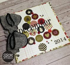 Scrapping with Christine: My December Documented Album