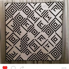 Regram from @lorna.jones... Use Your Illusion hanging at QuiltConWest.  Thanks so much Lorna for taking this picture!  #quiltcon2016 #useyourillusionquilt #wishiwasthere