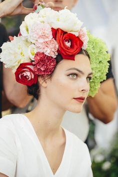 HAIR: Dolce&Gabbana Alta Moda Fall 2015 Haute Couture Backstage Beauty #DGPortofino