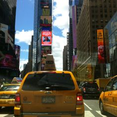 Summer in Times Square.
