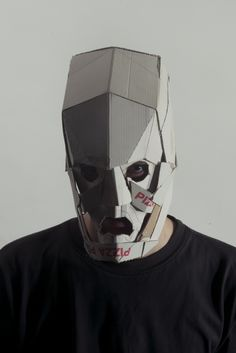 Masks by Jozef Mrva, via Behance