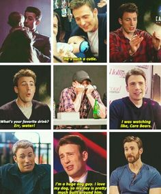 You have to be Steve Rogers! Like seriously, if I could bake myself a husband, it would be Chris Evans aka Steve Rogers Dc Memes, Marvel Memes, Avengers Quotes, Avengers Imagines, Marvel E Dc, Marvel Avengers, Avengers Cast, Marvel Actors, Steve Rogers
