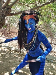 Na´vi. Movie: Avatar. Cosplay: Meisha Mock.