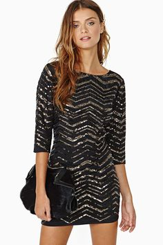 Fever Sequin Dress | Shop What's New at Nasty Gal