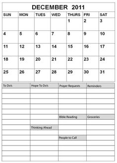 Daily Planner - Printables