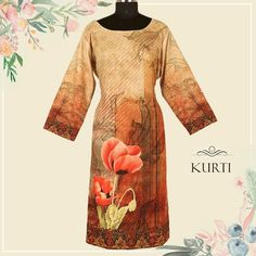 Floral designed add infinite charm and charisma on the wearer. A simple floral designs in the kurtis can sort out all your fashion fiestas. Floral Designs, Kurtis, Infinite, Lehenga, Design Trends, Women Wear, Vogue, Denim, Lady