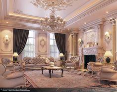 Luxury Homes Interior Design & Inspiration Mansion Interior, Luxury Homes Interior, Luxury Home Decor, Interior Architecture, Design Living Room, Living Room Decor, Design Bedroom, Home Design, Home Interior Design