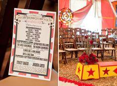 Matrimoni a tema: il circo *Themed Wedding: Vintage Circus* Vintage Circus Party, Carnival Wedding, Vintage Carnival, Circus Decorations, Carnival Themes, Circus Theme, Circus Birthday, Birthday Bash, Birthday Parties