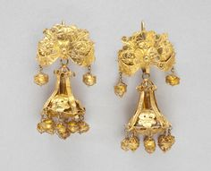 Pair of Earrings Artist/maker unknown, Continental 19th century?