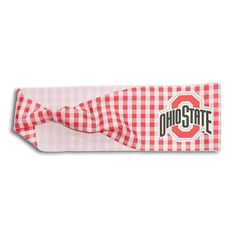 Legacy Athletic Ohio State Buckeyes Gingham Headband, Women's, Multicolor