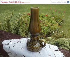 40 OFF THANKSGIVING SALE Green Pottery by bonniescollectibles, $5.99