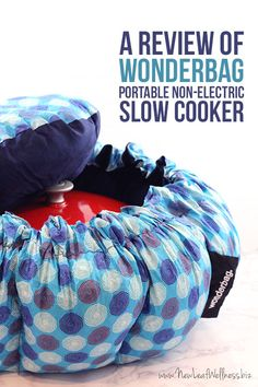 Use this bag to cook your favorite slow cooker meals while camping or at the beach.  It keeps meals from drying out or burning for up to 12 hours.