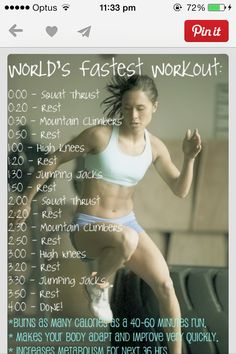 Fastest workout Full body workout, Shape up ur body with this CHECK IT OUT!