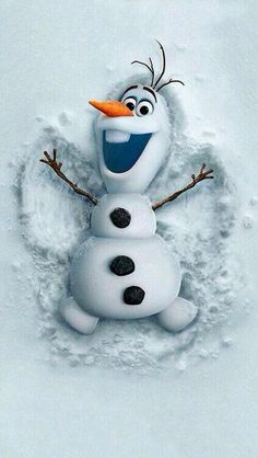 great picture of Olaf