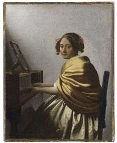 Johannes Vermeer, Young Woman Seated at a Virginal, 1670-1720. ©The Leiden Collection, New York