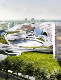 The international competition for the concept design of the new Eni Exploration & Production Business Center in San Donato Milanese, Italy, was won by Morphosis Architects with Nemesi Partners (architectural design partner), Setec TPI (structures designer), Setec Batiment (plants designer) and...